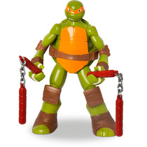 Boneco Tartarugas Ninja Michelangelo Gigante 55cm Mimo Nf