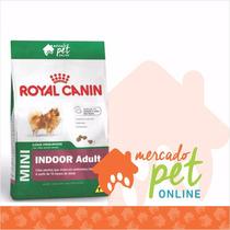 Ração Royal Canin Mini Indoor Adulto Raças Pequenas 7,5 Kgs