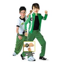 Disfraz Carnavalito Ben 10 Niño Talla 04-06