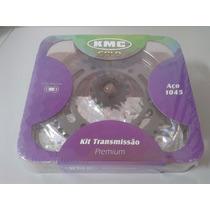 Kit Relação Fazer 250 Kmc Gold Corrente Com Retento