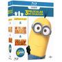 Minions+mi Villano Favorito 1 Y 2 Boxset Blu Ray Nuevo