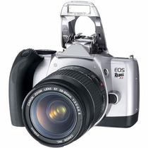 Cámara Canon Eos Rebel K2 Slr 35mm Lente Bolso Y Filtros