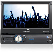 Som/gps Automotivo Multilaser Slide Touch Screen 7 - P3211