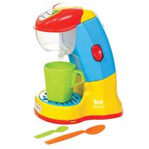 Cafeteira Expresso Infantil Acessórios Coloridos 1037 Maral