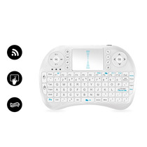 Mini Teclado Eurocase Inalambrico Touchpad Smart Tv Windows