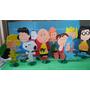 Kit Enfeites Mesa Snoopy Charlie Brown Festa Decoraçao 10peç