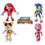 Muñecos Peluches Sonic C/u 100% Original Amy Knuckles