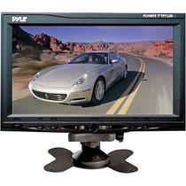 Pyle 7 Monitor Lcd De Pantalla Ancha Plvhr75 Apoyo Para La