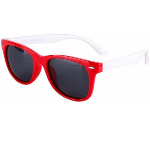 ccc9b9a15510a Óculos De Sol Infantil Flexível Lente Polarizada + Brinde - R  55