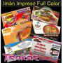 Rollo Plancha De Imán Impreso Full Color 0,31x1 Mts. Traker