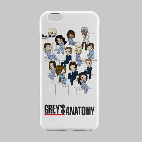 Capinha Série Grey\'s Anatomy Iphone 4 4s 5 5s 5c 6 6s 6 Plus - R$ 29 ...