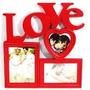 Porta Retrato Mural Foto Love 10x15 10x10 13x18 Promoção