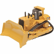 Carrinho Trator De Metal Cat Machines Caterpillar - Dtc 3465