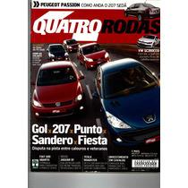 4 Rodas 581 Ago/08 Gol 207 Punto Sandero Fiesta Scirocco