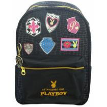 Mochila Escolar Santino Playboy G Pbm600601 - Shop Tendtudo