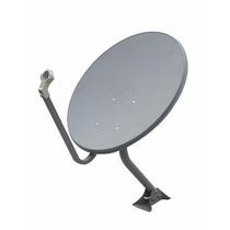 Antena De Tv Satelital Banda Ku 75cm