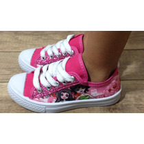 Tênis Infantil Fashion Pink Fashion Glitter Monster High