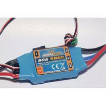 Speed Control Esc Hobby King 60a Com Bec De 4a - Lipo 2~4s