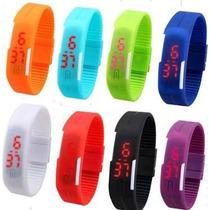 Lote De 10 Relojes Led Touch Colores De Moda Economicos