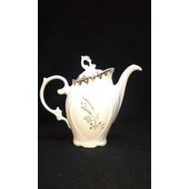 Antigo Bule De Cafe Desenho Trigo Em Porcelana Schmidt