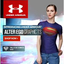 Under Armour Alter Ego Blusa Mujer Superhero Deportes/casual