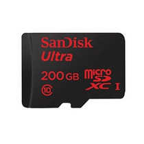 Sandisk Ultra 200 Gb Micro Sd (sdsdquan-200g-g4a)