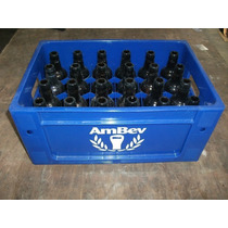 Caixa Engradado +com/24 Vasilhames Cerveja 300ml Ambev