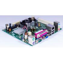Placa Com Processador Atom 230 1.6ghz Nova Ddr2