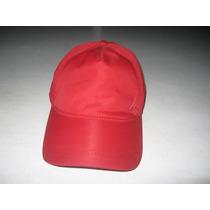 Gorra Nautica Unisex Color Roja Nueva