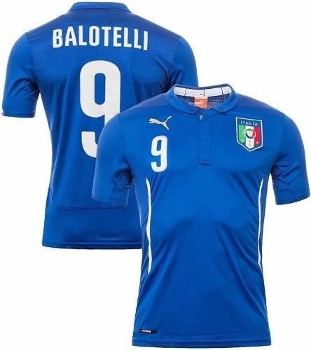 Camisa Puma Seleção Itália I 2014 - Balotelli - F. Grátis - R  259 ... 6ce92de8e15fe