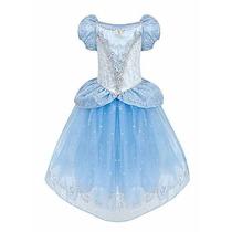 Disfraz Disney Store Princesa Cenicienta Original Nuevo