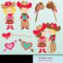 Kit Imprimible Amor Vaquero 1 Imagenes Clipart