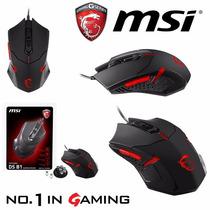 Mouse Gamer Msi Ds B1 Gaming 6 Botones 1600 Dpi