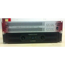 Amplificador American Audio Vpl 600 Y Ecualizador Pyle Pro