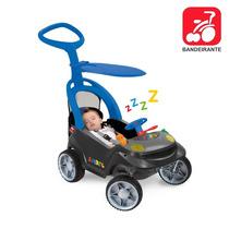 Carrinho Passeio Bebê Infantil Criança Quadriciclo Empurrado