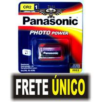 Cartela Cr2 C/1 Bateria Pilha V3 Photo Panasonic Lacrado