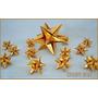 Colgante Grullas,estrellas - Vidrieras Navidad- Origami Deco