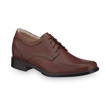Mas Alto 7cm Zapatos Hombre Vestir Café Crecer Estatura