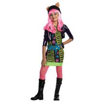 Disfraz De Monster High Vestido Para Niñas Talla Small