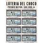 Billete De Lotería Del Chocó 1963 Completo