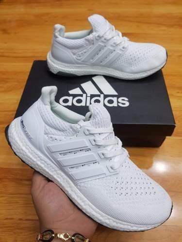 38e1382f07eee Tenis Zapatillas adidas Ultra Boost Blanco Hombre Indicy -   149.900 en  Mercado Libre