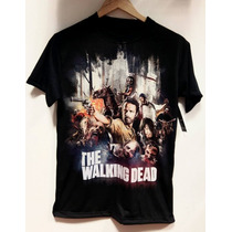 Remeras The Walking Dead Sublimadas Full Print Unicas