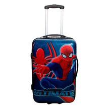 Mala Infantil Rigida Spider Man Roda Homem Aranha Marvel
