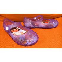 Zapatos Mary-janes Plastico Dora La Exploradora No. 18 Luces
