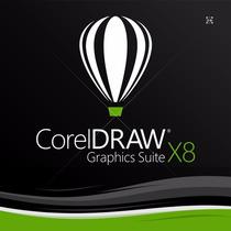 Corel Draw Graphics Suite X8 / Dvd Fisico