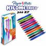 Boligrafo Papermate Colores Surtidos Inkjoy 300rt Caja X 12