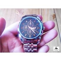 Relógio Masculino Qb Fashion Office-style Stainless Steel
