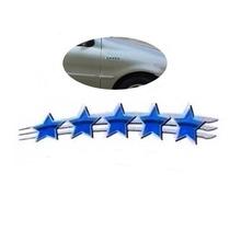 Emblema Resinado Estrela Fiat 25 Anos Direito
