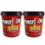 2x Pasta - Brigadeiro Proteico - 500g Cada - Power One