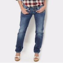 Pantalon De Mezclilla Pepe Jeans Original Talla 34 Amplio